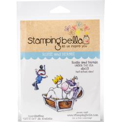 447041 Stamping Bella Cling Stamps Rosie & Bernie Under The Sea