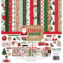 """659794 Echo Park Collection Kit Jingle All The Way 12""""X12"""""""