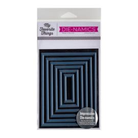 MFT1720 My Favorite Things Die-namics Hot Foil Die Foiled Frames-Rectangle