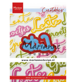 LR0645 Marianne Design Cutting & embossing Lente