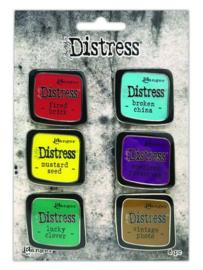 TDZS73444 Ranger Distress Pin-Carded Distress Pin Set  2