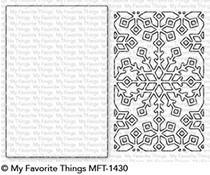 MFT-1430 My Favorite Things Snowflake Window Die-Namics