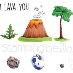 076234 Stamping Bella Cave Kids Add Ons Cling Stamp Set