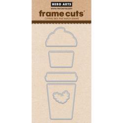 241325 Hero Arts Frame Cut Dies Coffee Cup Tags