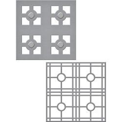 S4715 Spellbinders Shapeabilities Dies Layered Tile