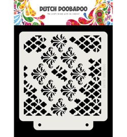 470.715.166 Dutch DooBaDoo Dutch Mask Grunge barroque
