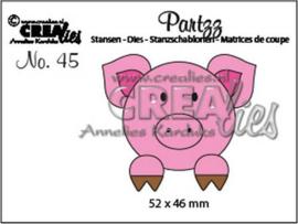 CLPartzz45 Crealies Partzz Varken