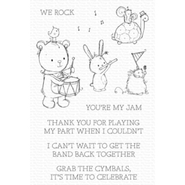 """RAM003 My Favorite Things Clear Stamps You're My Jam 4""""X6"""""""