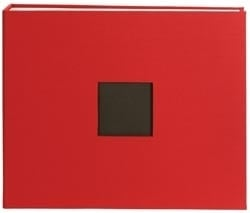 "325986 Cloth D-Ring Album 12""X12"" Red"