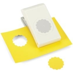 E5431008 Nesting Paper Punch Scallop Circle 1.5""