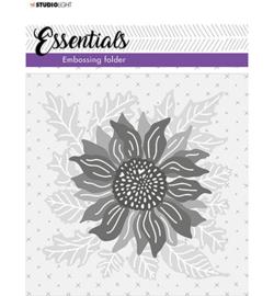 SL-ES-EMB03 - SL 3D Embossing Folder Falling leaves Essentials nr.03