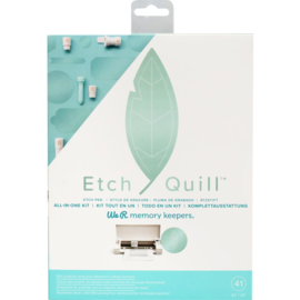 WR661090 We R Memory Keepers Etch Quill Starter Kit