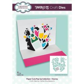 CEDPC1148 Creative Expressions Craft die paper cuts Hoera