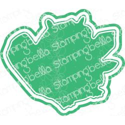584723 Stamping Bella Cut It Out Dies Oddball Beaver