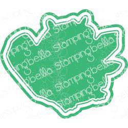 584723 Stamping Bella Cut It Out Dies Oddball Beaver