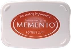 407313 Memento Full Size Dye Inkpad Potter`s Clay