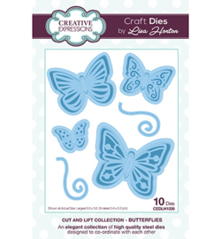 CEDLH1026 The Cut and Lift Collection Butterflies