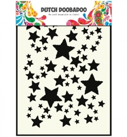 470.715.014 Dutch Doobadoo - Mask Art Stencil Stars