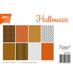 6011/0533 Papier Set Halloween  A4