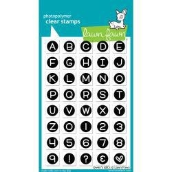 """LF901 Lawn Fawn Clear Stamps Owen's ABCs 4""""X6"""""""