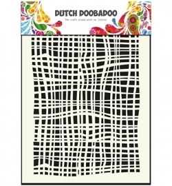 470715007 Dutch Doobadoo - Mask Art Stencils Fabric