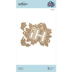 S3384 Spellbinders Shapeabilities Die D-Lites Floral Hi