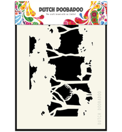 470.715.402 Dutch DooBaDoo Mask Art Forest