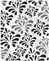 HACG329 Hero Arts Cling Print & Flower Pattern