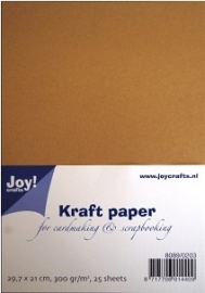 8089-0203 Joy!Crafts Kraft Paper (300 gr) A4