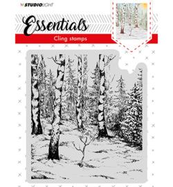 CLINGSL01 Cling Stamp Essentials, Christmas, nr.01