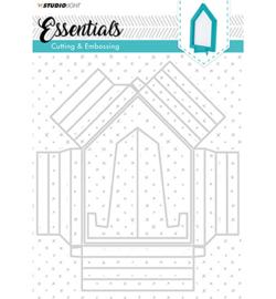 STENCILSL208 - Cutting and Embossing Die Cut Big Frame, Essentials nr.208