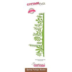 "303315 CottageCutz Elites Die Spring Foliage Border, 5.5""X1.9"""