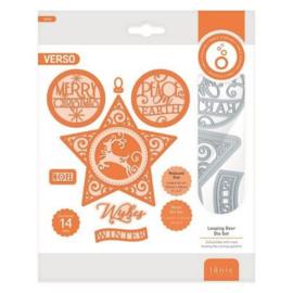 3635E Tonic Studios Die Essentials Leaping Deer