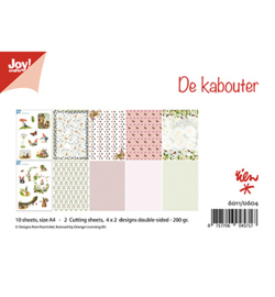 6011/0600 Papier Set Design Love Story A4