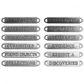 TH93084 Idea-Ology Metal Word Bands