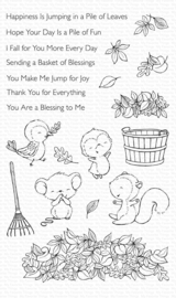 SY-13 My Favorite Things Piles of Fun Clear Stamps