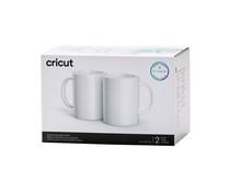 2007823 Cricut Ceramic Mug White 440ml (2pcs)