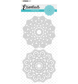 STENCILSL384 StudioLight Cutting Die Mandala Essentials nr.384