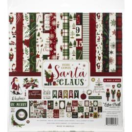 "601112 Echo Park Collection Kit Here Comes Santa Claus 12""X12"""