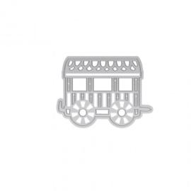 1464E Tonic Studios Rococo die kids petite toy carriage