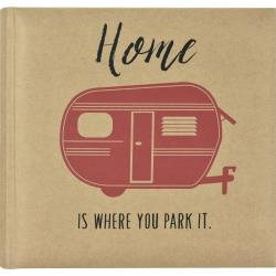 "549134 MBI 2-Up Photo Album Home Is Where You Park It. 9.5""X8.5"""