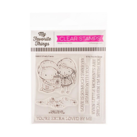 """RAM013 My Favorite Things Clear Stamps Firefly Friends 4""""X4"""""""