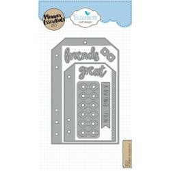 EC1651 Elizabeth Craft Metal Die Planner Essentials 7
