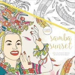 275668 KaiserColour Perfect Bound Coloring Book Samba Sunset