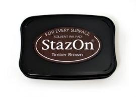 SZ41 StazOn Timber Brown
