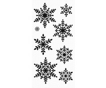 CS-435 My Favorite Things Serene Snowflakes Clear Stamps