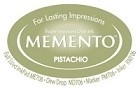 222124 Memento Full Size Dye Inkpad Pistachio