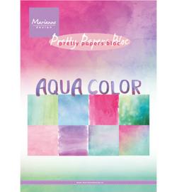 PK9147 Pretty Papers  Aqua color A5