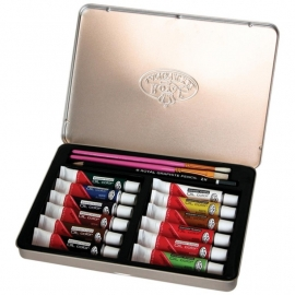 386413 Oil Painting Art Set W/Tin