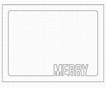 MFT-1632 My Favorite Things Merry Frame Die-namics